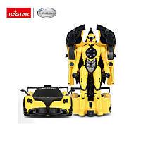 Машина-трансформер Rastar RS Transformable Car - Yellow 1/32