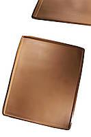 Силиконовый коврик с бортами для выпечки бисквита 40 см на 30 см глубина 0,8 см
