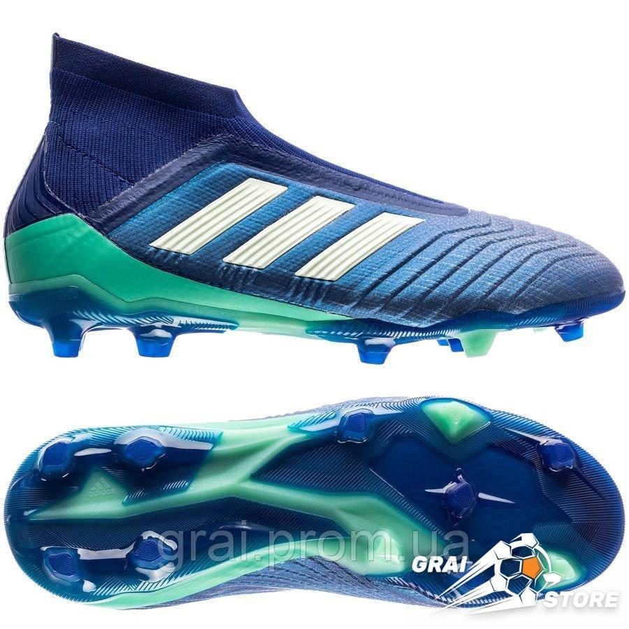 e649515b Детские бутсы adidas Predator 18+ FG/AG Blue/White/Green, цена 3 000 ...