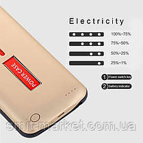 Чехол Smart Battery Case для Apple iPhone 6 plus, фото 2