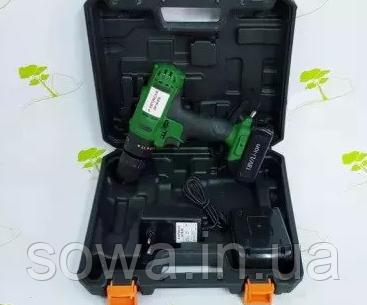 ✔️ Шуруповерт Hitachi DV 18DSL. Гарантия, сборка Румыния. 18 В, 2 А/Ч, фото 2