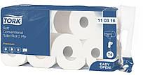 Туалетная бумага Tork Premium, 2-х сл., 23 м., 8 рул/уп
