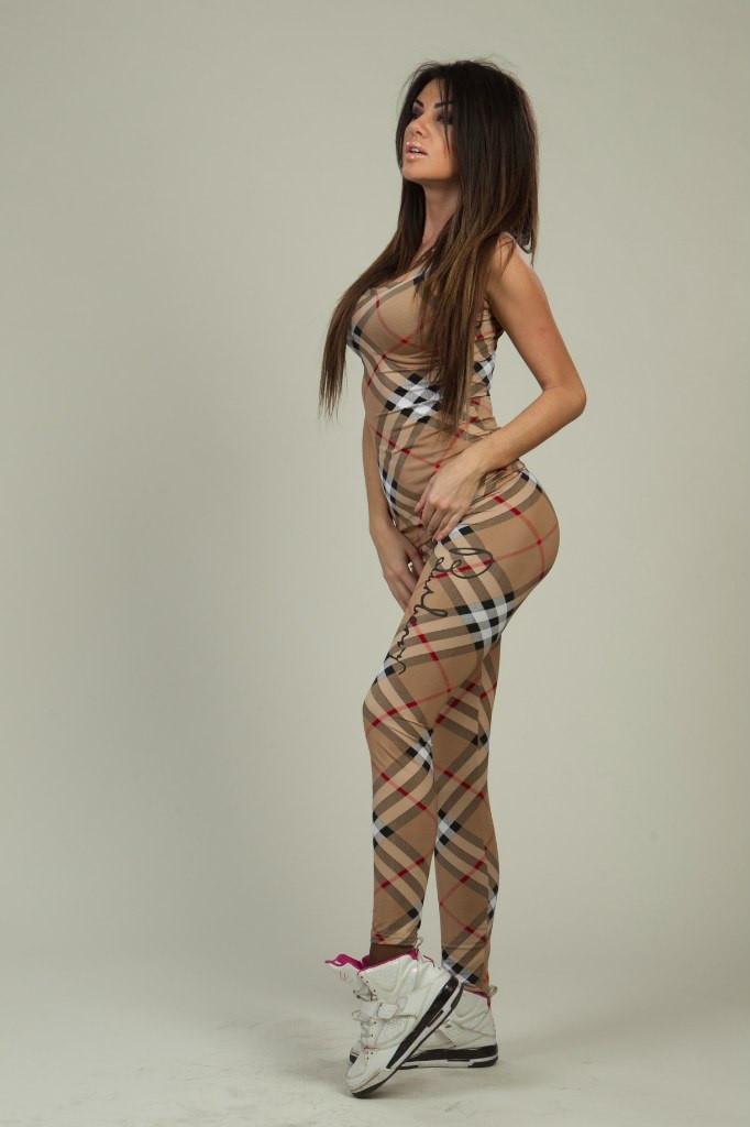 Женский костюм Барбари с лосинами трикотаж