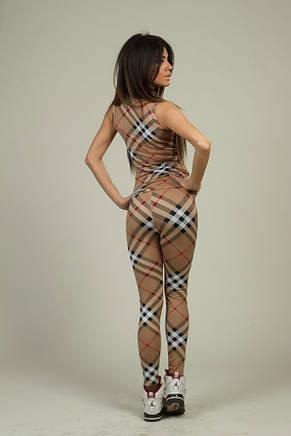 Женский костюм Барбари с лосинами трикотаж , фото 2