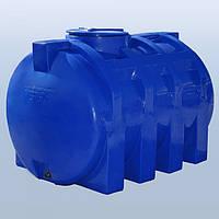 Емкость горизонтальная,объем 2000 л. RG 2000р/реб (2-слойная)Roto Europlast