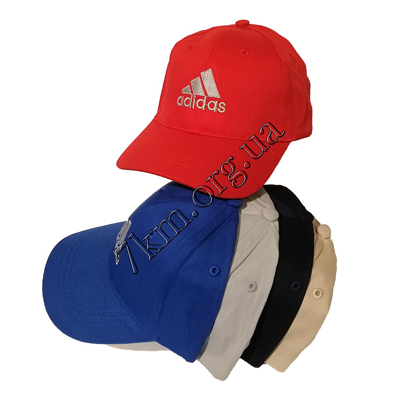 """Кепка дитяча для хлопчиків репліка """"Adidas"""" 52-54 р. бавовна Гуртом 7828"""