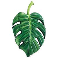 Надувной матрас Пальмовый лист 213*142 см
