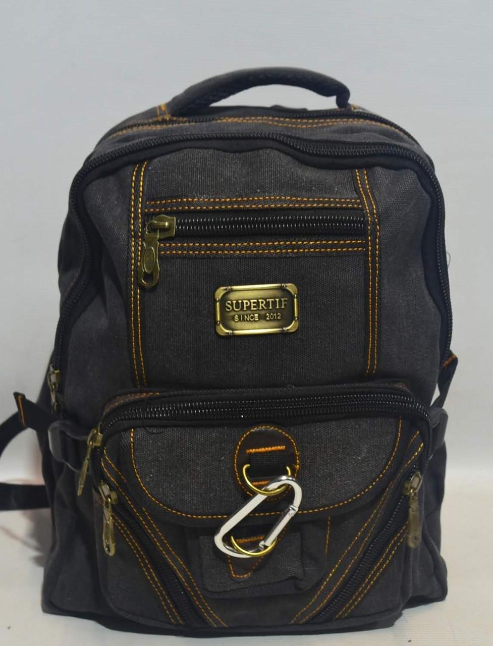 "e2ab6890d343 Брезентовый рюкзак ""Supertif 0106 ST""(реплика) - Интернет магазин рюкзаков  и сумок"