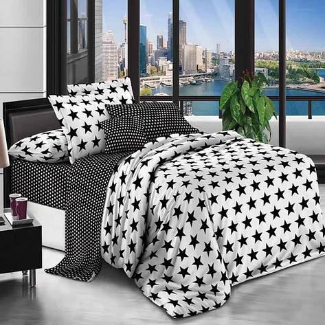 Двуспальный комплект постельного белья евро 200*220 хлопок  (11586) TM KRISPOL Украина, фото 2