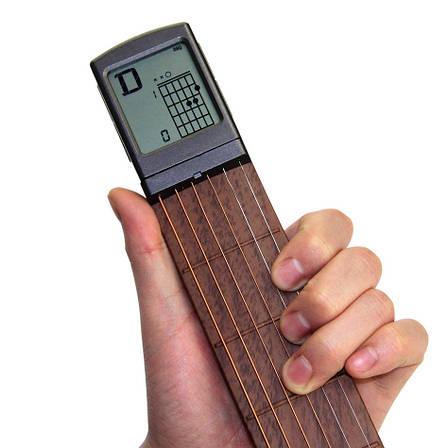 Карманная Гитара. Портативная, раскладная электрогитара с дисплеем для обучения!, фото 2