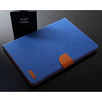 "Чехол книжка CMAR Flip Outer Fabric Cotton Case для Samsung Galaxy Tab S2 8.0"" SM-T710 T715 Светло-синий"