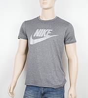 "Мужская футболка ""Вискоза"" Nike 1902 серый, фото 1"