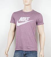 """Мужская футболка """"Вискоза"""" Nike 1902 бордо"""