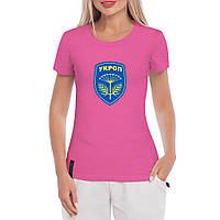Футболка жіноча з логотипом Укроп, фото 1