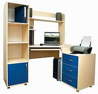 Стол компьютеный + тумба + шкаф пенал Design Service (281)