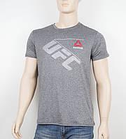 "Мужская футболка ""Вискоза"" Reebok 1901 серый, фото 1"