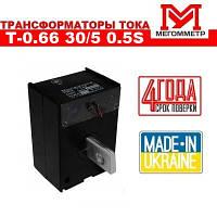 Трансформатор тока Т-0.66 30/5 0.5S