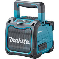 Акустическая система Makita DMR200 (спикер) аккумуляторная, Bluetooth, 10,8-14,4-18В/220В (без АКБ)