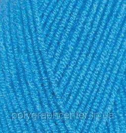 """Пряжа для вязания Alize """"Lanagold""""800, цвет: темно-бирюзовый 646"""