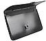 """Портфель на застібці, фактура """"Вишиванка"""" """", чорний E31641-01, фото 2"""