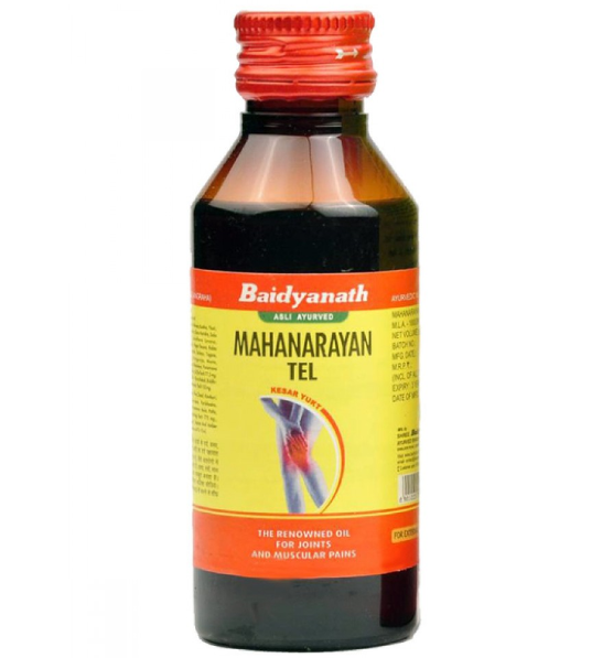 Массажное масло Маханараян,Baidyanath 100 мл-при болях в суставах и мышцах