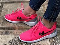 Кроссовки женские розовые неон  39