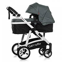 Коляска прогулочная  CARRELLO Fortuna CRL-9001 Shade Grey 2в1 c матрасом MOQ