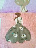Набор плюшевых полотенец из 3х штук, фото 2
