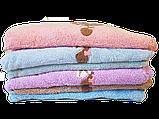 Набор плюшевых полотенец из 3х штук, фото 3