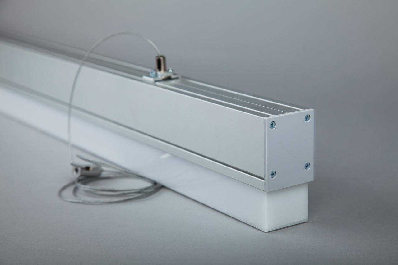DECO-1200+: 36W 3780Lm линейный LED-светильник (48х109х1200мм)