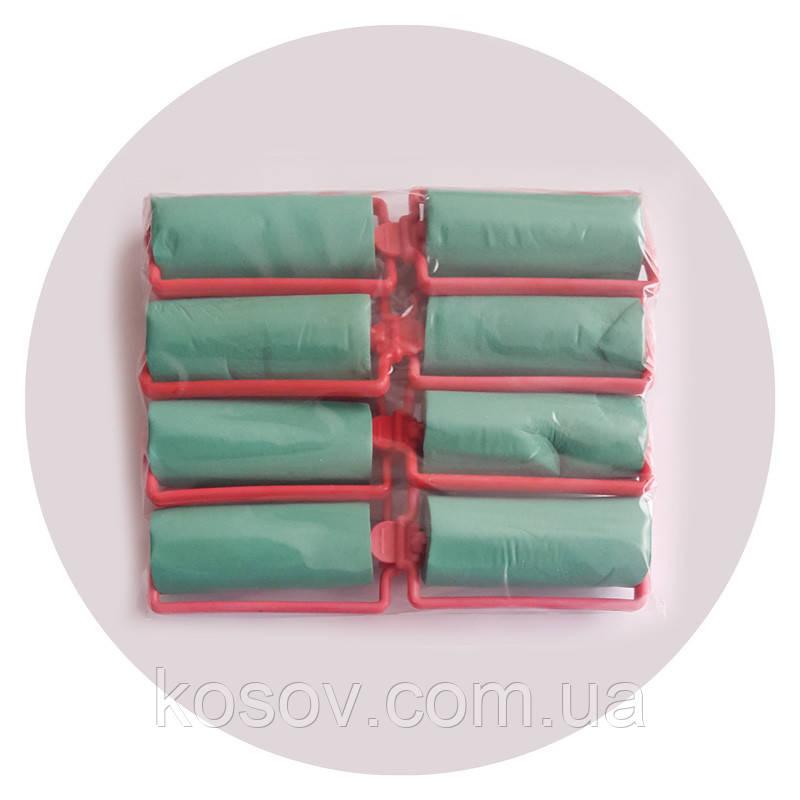 Бигуди Папильотки резиновие с рамкой 8 шт в уп