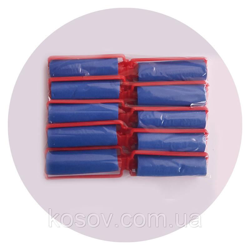 Бигуди Папильотки резиновые с рамкой 10 шт в уп