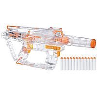 Бластер Nerf Нерф Модулус Прозрачный Призрак (Nerf Modulus Ghost Ops Evader Motorized Light-Up)