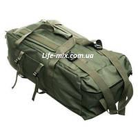 """Сумка - рюкзак """"TACTIC-80"""" військова (Олива)"""