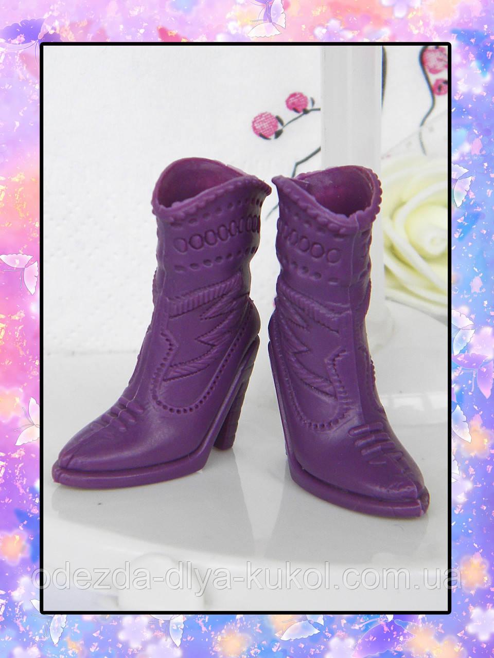 Сапоги для кукол Барби (с ножкой до 2 см)