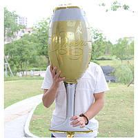 Фольгированный шар Бокал Шампанского, высота 94 см