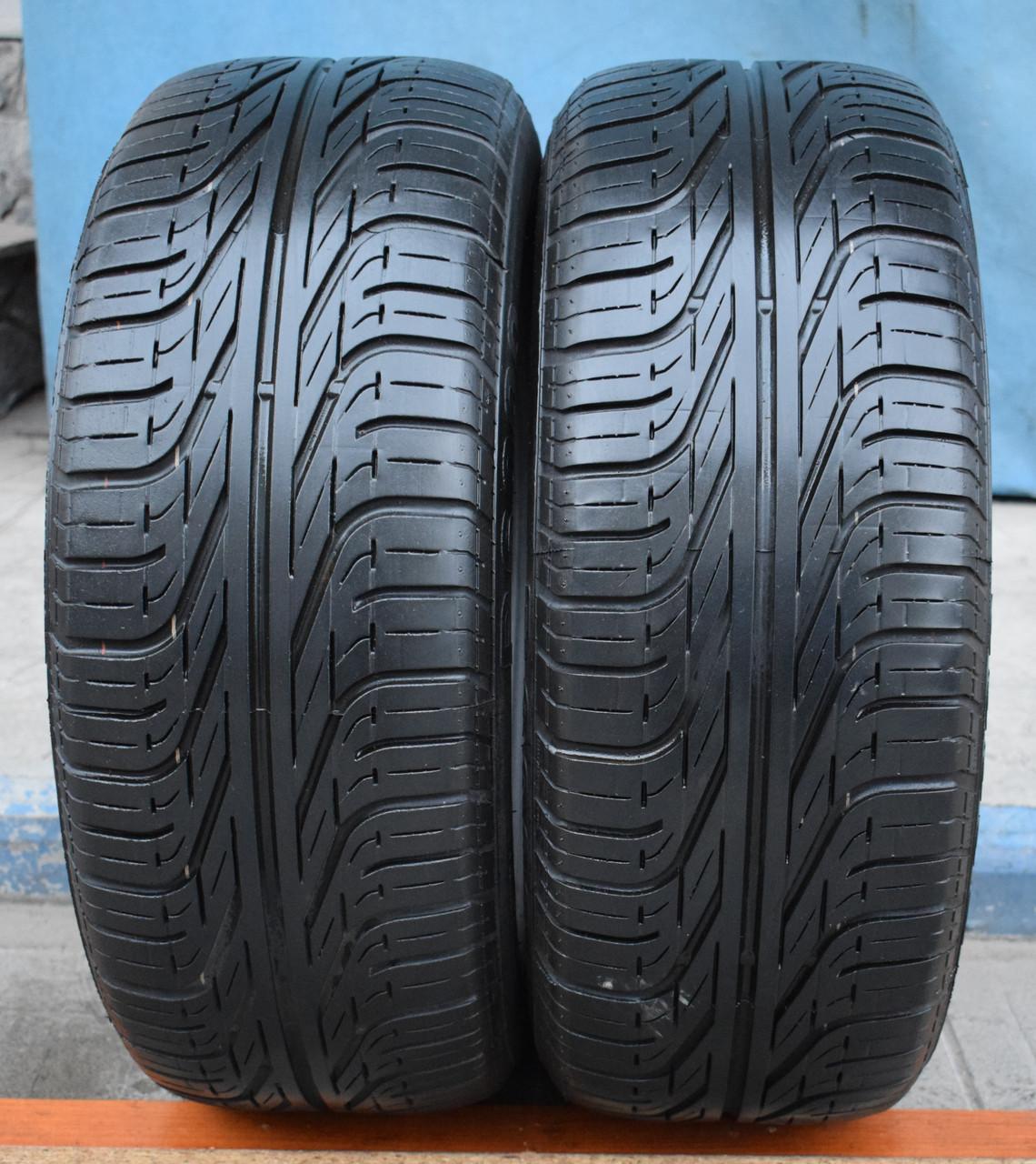 Шины б/у 215/60 R15 Pirelli P6000, ЛЕТО, пара, 5,5-6 мм