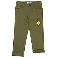 Брюки для мальчиков 5-6 лет (р. 108-114) ТМ Little Marcel Зеленый LMRH1037-green, фото 1