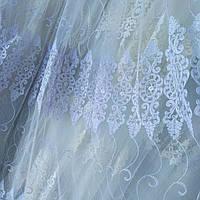 Тюль турецкая занавески портьеры шторы сублимация тюль-1418, фото 1