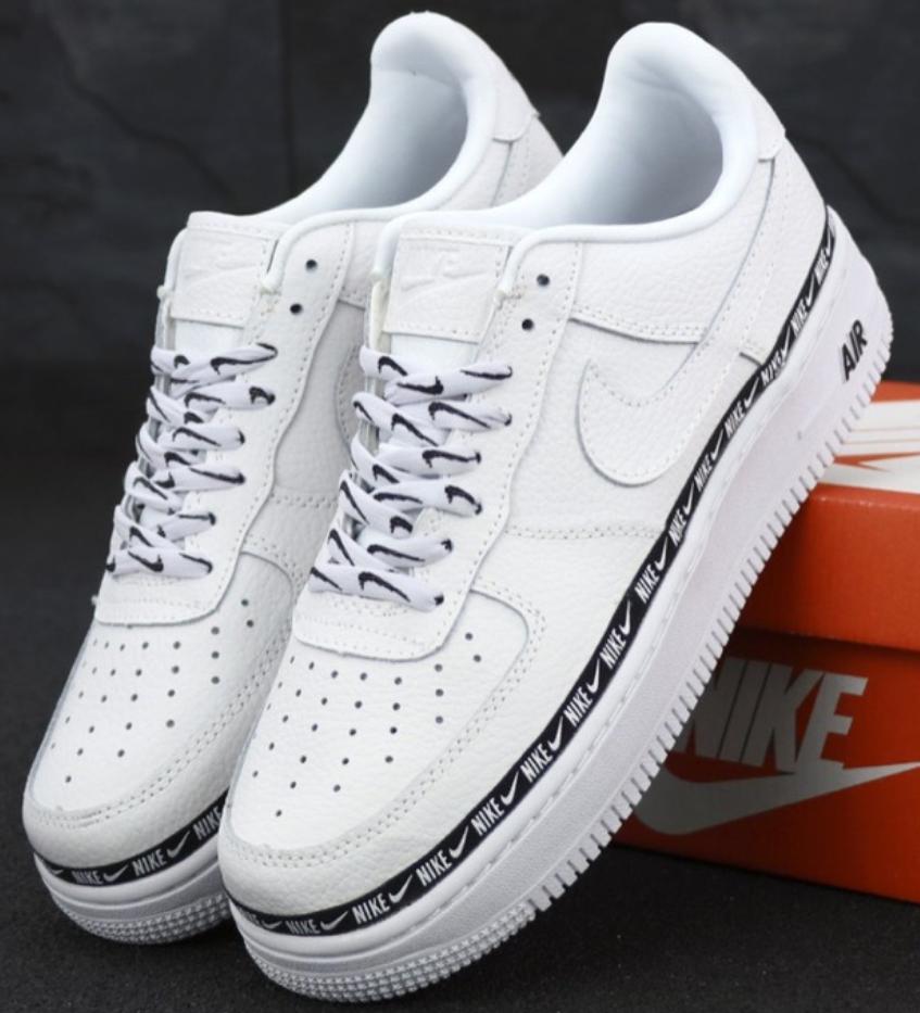 Мужские Кроссовки Nike Air Force 1 Low White, Найк Аир Форс 1 белые