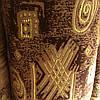 Мебельная ткань велюр Бельгия производства Турция на натуральной шелковой основе сублимация 5049