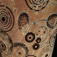 Мебельная ткань велюр Бельгия ширина 140 см на натуральной шелковой основе сублимация 5054