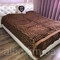 Покривало євро купити на ліжко диван, покривало норка на ліжко диван, шикарне покривало на ліжко диван, гарне покривало на ліжко, фото 6