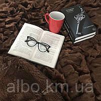 Текстиль на кровать диван, меховое покрывало в спальню на кровать диван, покрывала евро на кровать диван,, фото 3