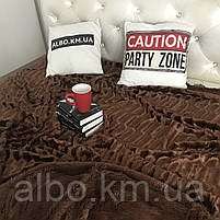 Покривало євро купити на ліжко диван, покривало норка на ліжко диван, шикарне покривало на ліжко диван, гарне покривало на ліжко, фото 2