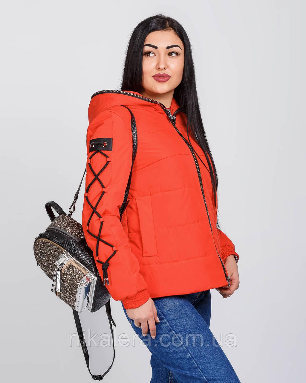 Куртка короткая спортивного стиля  рр 42-52