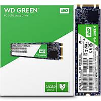 Твердотельный накопитель SSD M.2 WD Green 240GB 2280 SATA TLC