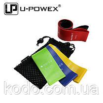Фитнес резинки U-Powex из 5 лент и чехла для фитнеса. ОРИГИНАЛ, фото 3