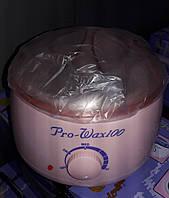 Воскоплав баночный Pro-Wax100, 400 мл, розовый цвет, фото 1