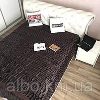 Покрывало на диван Норка ALBO 200х230 cm Венге (P-A20-2), фото 3
